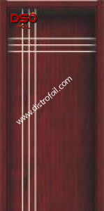 Decorative and Functional Heat Transfer Materials on Wood Plastic Composite pictures & photos