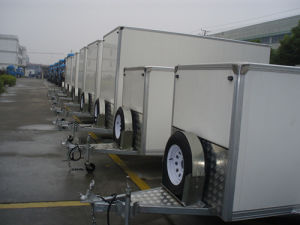 Enclosed Cargo Trailer 10x5x6 (GW-BLV 10) pictures & photos
