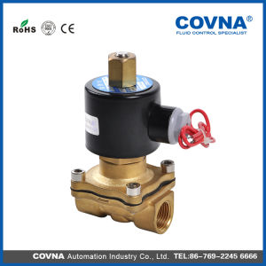Brass Normally Open Direct Acting Solenoid Valve pictures & photos