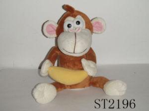 Monkey Holding a Banana (ST2196)