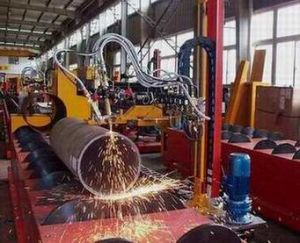 CNC Steel Pipe Cut off Machine Pipe Flame Cutting Machine pictures & photos