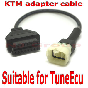 Ktm Adapter Cable for Tuneecu Reprogramming Ktm Motorbike ECU Adapter pictures & photos