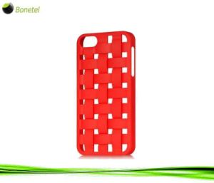 Bias Woven Protector Mobile Phone Cover for iPhone 5 (Red)