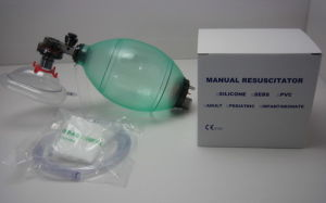 PVC Manual Resuscitator Ambu Bag for Medical Use pictures & photos