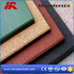 Square Rubber Gym Floor Price, Rubber Tiles for Playground