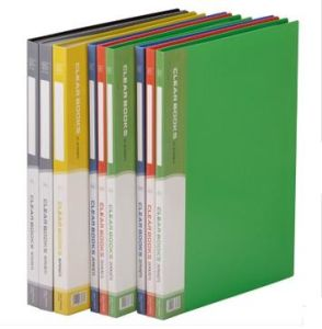 File Folder - Clear Book in Bright Color (F2109-1) pictures & photos