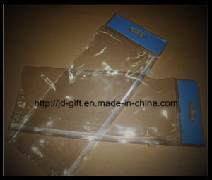 Plastic Header Bag, PVC Packaging Bag, China PVC Bag pictures & photos