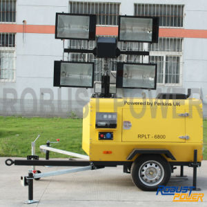 Kubota Portable Hydraulic Mobile Light Tower pictures & photos