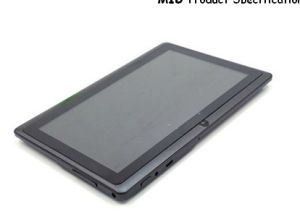 7 Inch Tablet PC with Android 4.2 (SW-Q88)