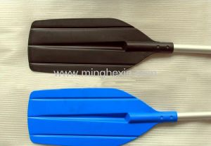 Black and Blue Plastic Paddle with ISO SGS pictures & photos