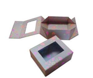 Elegant Foldable Paper Box (100686)