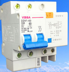 Dz47le-63, C45n ELCB, MCB, RCCB, Circuit Breaker, Switch, Crusher, Contactor, Relay pictures & photos