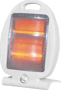 Portable Quartz Heater 800W (NSD-60D)