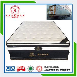 Home Furniture Pocket Coil Spring Mattress Queen Size Mattress pictures & photos