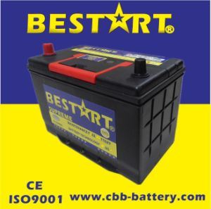 12V90ah Premium Quality Bestart Mf Vehicle Battery JIS 30h90r-Mf pictures & photos