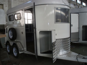 2 Horse Float (Trailer) With Front Tool Box pictures & photos