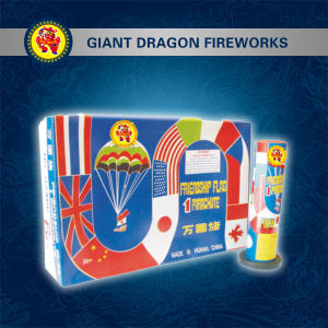 Friendship Flag Parachute Fireworks Gd3408 pictures & photos