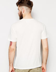 Factory Price Custom White Mens Round Neck Cotton T Shirts pictures & photos