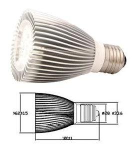E27 LED Bulb Lamp 5*1W (HBC005WGLE27)