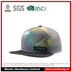 Colorful Mesh Snapback Hat for Adullts pictures & photos