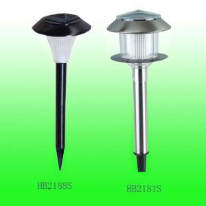 Stainless Steel Solar Garden Light,Lamp (HB-2181S, HB-2188S)