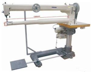 Long Arm Cylinder Bed Triple Feed Heavy Duty Sewing Machine pictures & photos