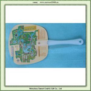 Promotional PP Hand Fan (S5P07) pictures & photos