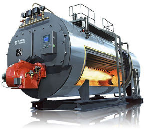 Wns Horizontal Gas Oil Fired Hot Thermic Oil Boiler pictures & photos