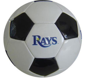 Promotion PVC Leather Machine-Sewn Soccerball pictures & photos