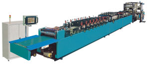High-Speed (Three-servo) Three-Side Sealing Zipper Standing Pouch-Making Machine (PRY-ZD-HDL Series)