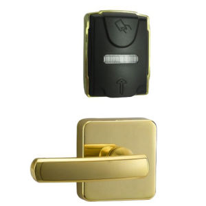 Contemporary Designed Electromagnetic Hotel Card Door Lock pictures & photos