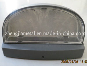 Aluminum Casting Lamp Shell Part with Plastic Accessories
