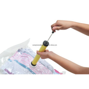 Economic Blanket Package Vacuum Storage Flat Bag pictures & photos