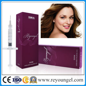 Reyoungel Cross Linked Hyaluronate Acid Dermal Filler Injection for Reducing Wrinkles pictures & photos