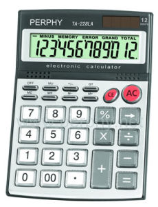 Straight Calculator (TA-228LA)