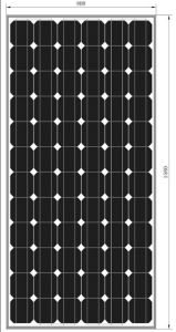 Monocrystalline Solar Panel (CNSDPV-165(S)) pictures & photos