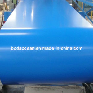 Seablue Color Coated Steel Coil/ PPGI /Prepainted Steel Coils
