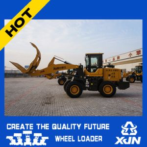 4.5m Dumping Height 1.5ton Rated Load Front Loader with Log Grapple Zl26 pictures & photos