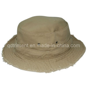 Fashion Grinding Washed Cotton Twill Fisherman Bucket Hat (TMBH9459) pictures & photos