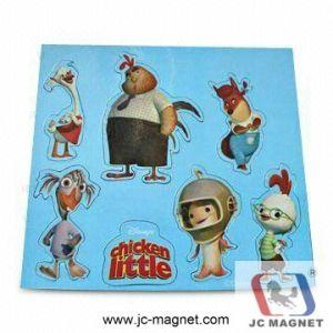 Custom Design PVC Fridge Magnet pictures & photos