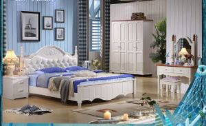 2016 Hot Selling Bedroom Wooden Bed/Stylish Bedroom Furniture Wooden Bed in High Cx-Wb02 pictures & photos