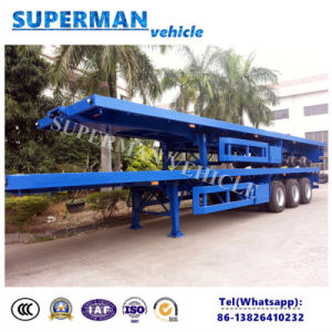 40FT Utility Flatbed Container Trailer Hot Sale pictures & photos