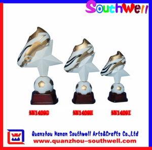 Polyresin Star Trophy (NW1409GHI)