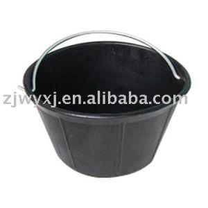 Rubber Bucket Pails, Construction Buckets 10840 (10L)