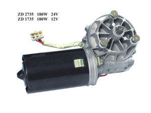 Manufacture Windshield Wiper Motor 180W 24V 120-130nm pictures & photos