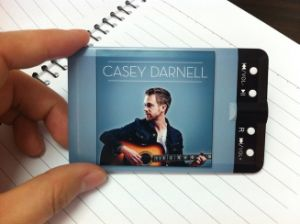 Customized Design Logo Full Printing Credit Card MP3 Player (OM-C105) pictures & photos