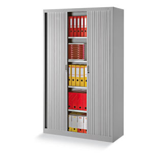 Steel Tambour Office Storage Cupboard for Sale pictures & photos