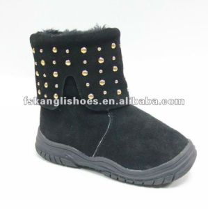 2015 Black Winter Children Boots