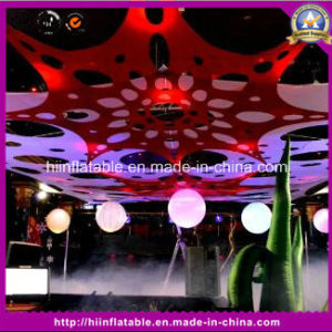 Hanging Stage Inflatable Colorful Balls for Decoration Event