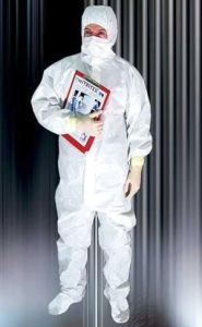 Greatguard Microporous Type 5&6 Coverall (YF1011) pictures & photos